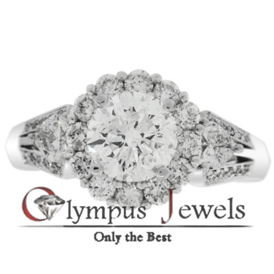 2.34CT G-I1 CERTIFIED DIAMOND ENGAGEMENT RING 18KW
